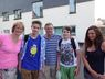 SLS 2013 Arrival in Watchet - Meeting the Host Families: Louise Martin, Alexander, Edward Martin, Alexander, Gemma Martin