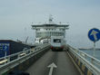 ... boarding the ferry in Dunkerque